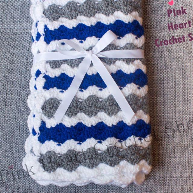 New Handmade Baby Blanket