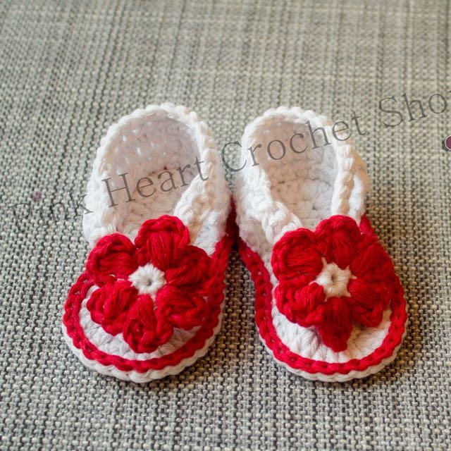 New Handmade Baby Sandals