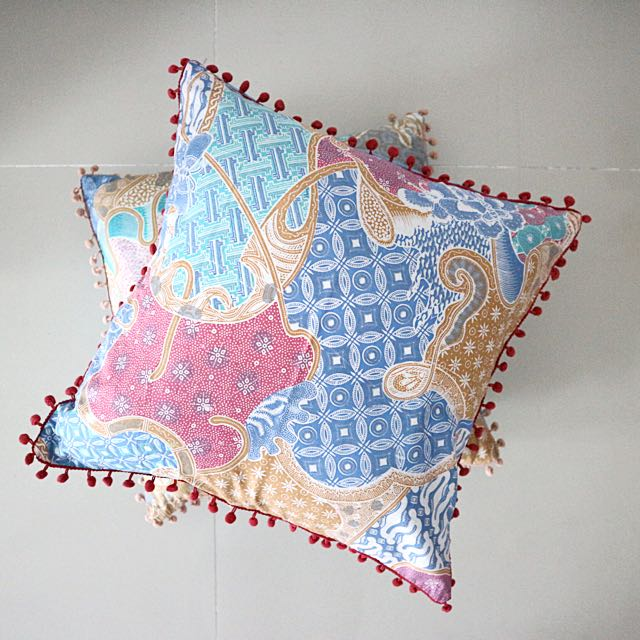 NEW Pompom Cushion Covers