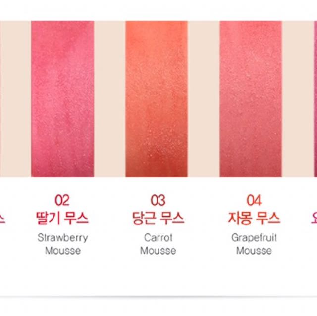 New Saemmul Korea Mousse Candy Tint, Preloved Health & Beauty, Makeup on Carousell