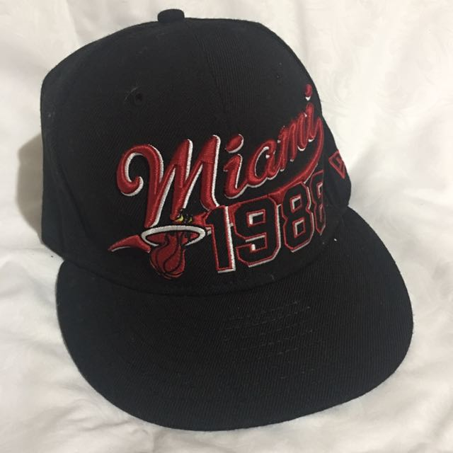 NewEra 59Fifty Miami Heat Team