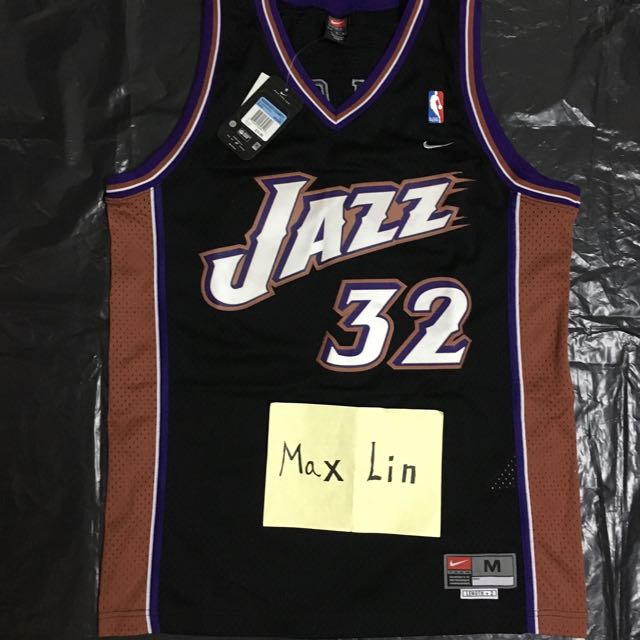the best attitude 1bd39 b7788 Nike Karl Malone Utah Jazz Retro Swingman Jersey