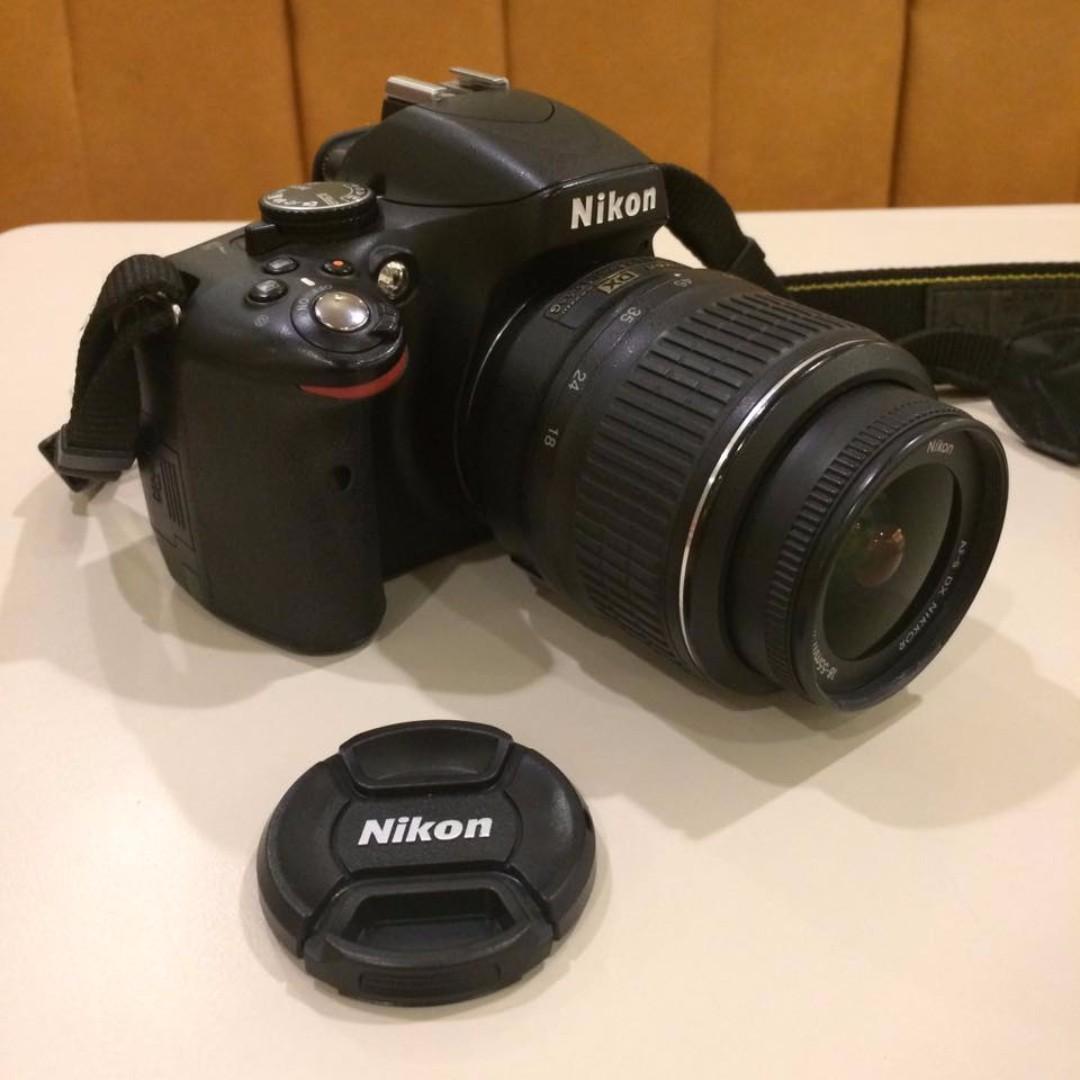 Nikon D5100 (body + lens)   Shutter 20.000