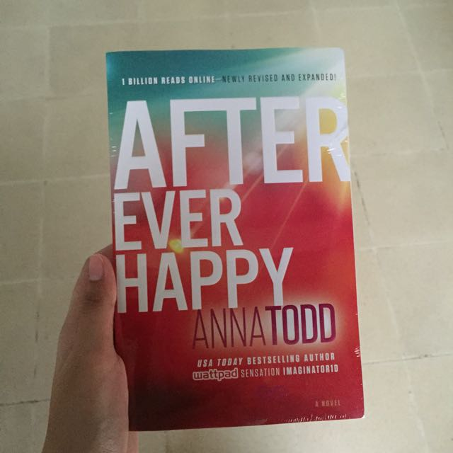 (novel Import) After Ever Happy By Anna Todd