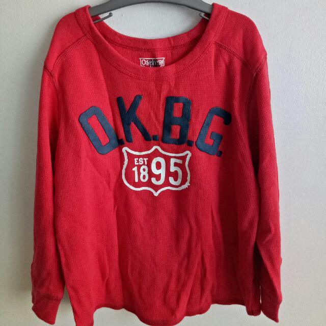 Oshkosh B'gosh Longsleeves Shirt Size: 4T