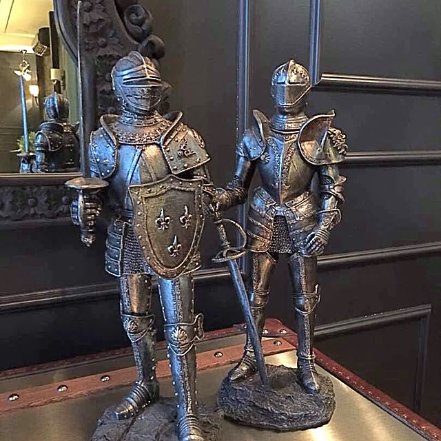 Pair Of British Knight Home Furniture Decor On Carousell