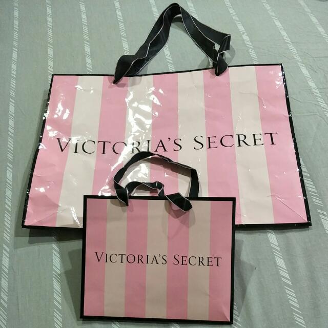 Paper Bag Victoria's Secret