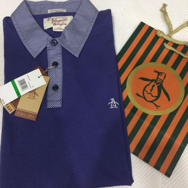155ae085 Penguin Polo Shirt, Men's Fashion, Clothes, Tops on Carousell