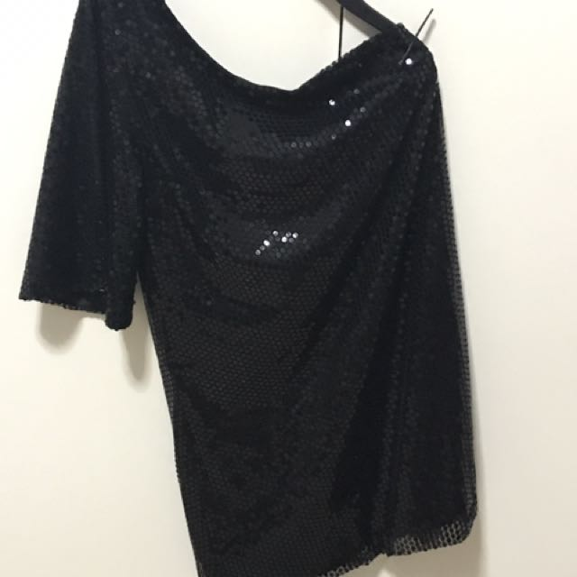 PEOPLE ARE PEOPLE SEQUINED DRESS