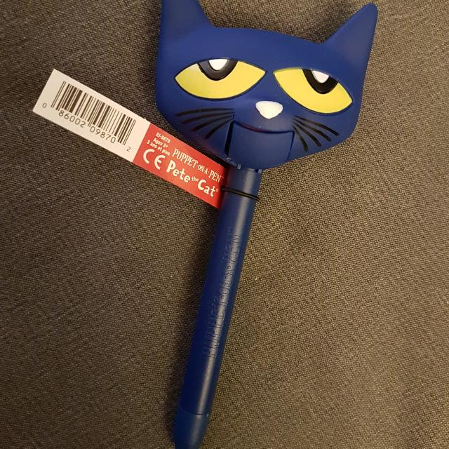 Pete The Cat - Puppet On A Pen