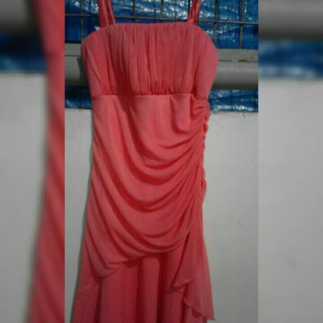 Sale Or Swap Pink Formal Dress