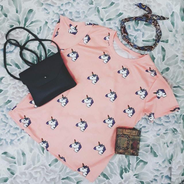 Brand New : Pink Unicorn Shirt