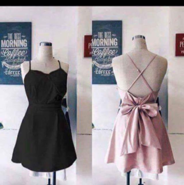 Pinky summer cut out dress
