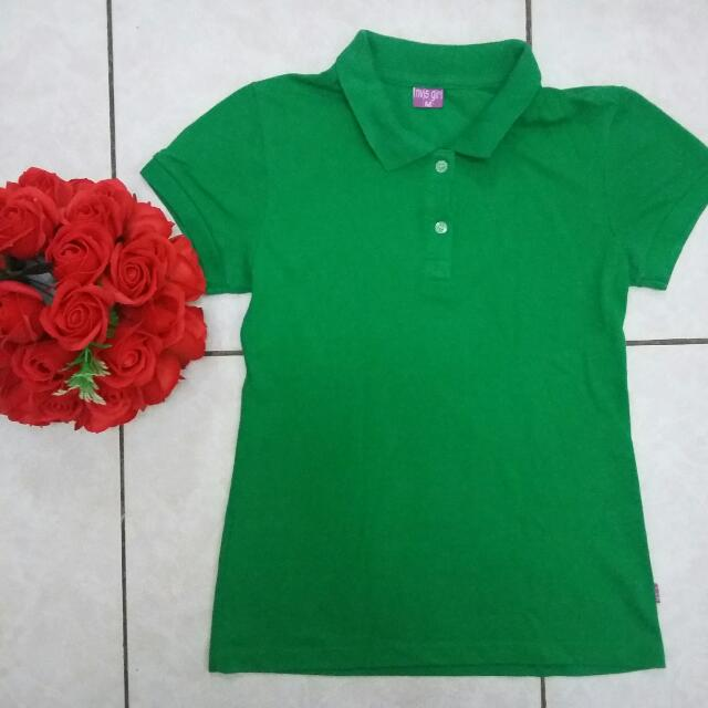 Plain Green Polo Shirt