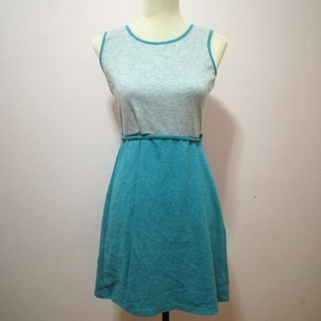 Plains And Prints Cotton Dress