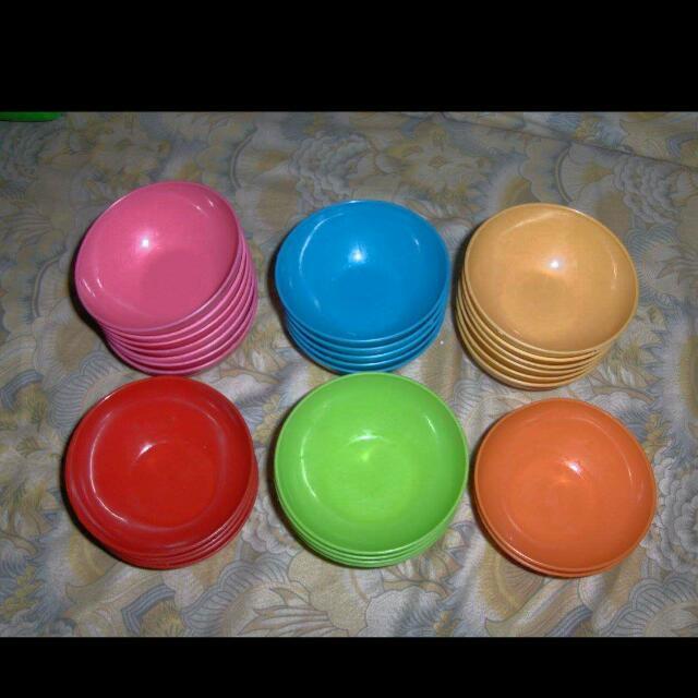Plastic Soup Bowls