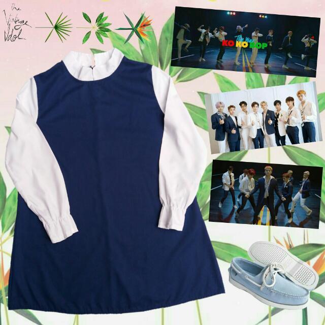 ❌RESERVED❌Kpop Inspired EXO - Ko Ko Bop Dress 2
