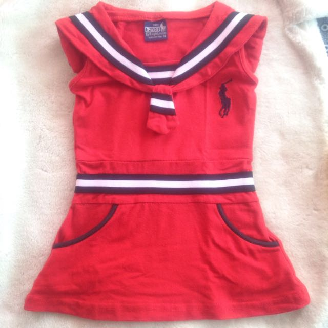RL Baby Red Dress