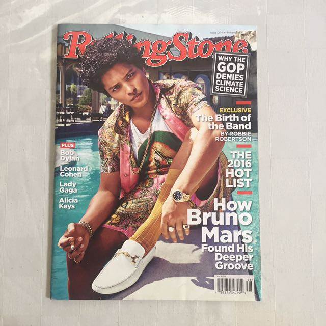 Rolling Stones - Bruno Mars cover 2016
