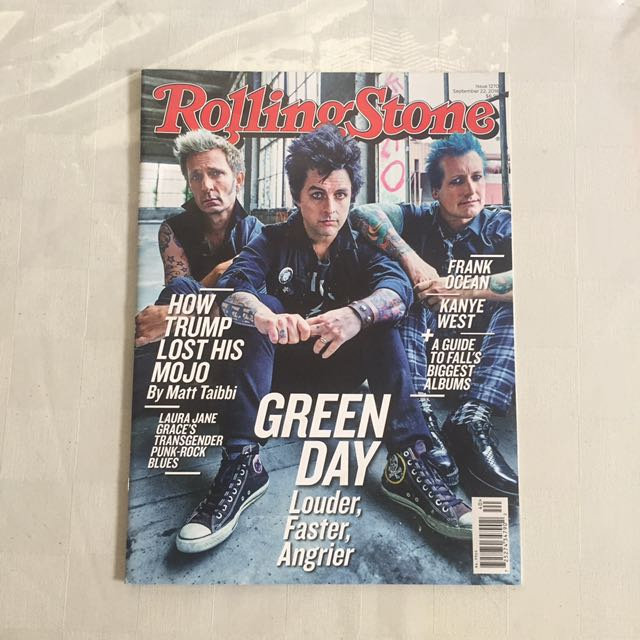 Rolling Stones - Green Day cover 2016
