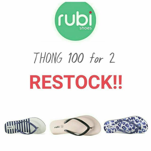 RUBI Thong promo 100 For 2 (2pasang)