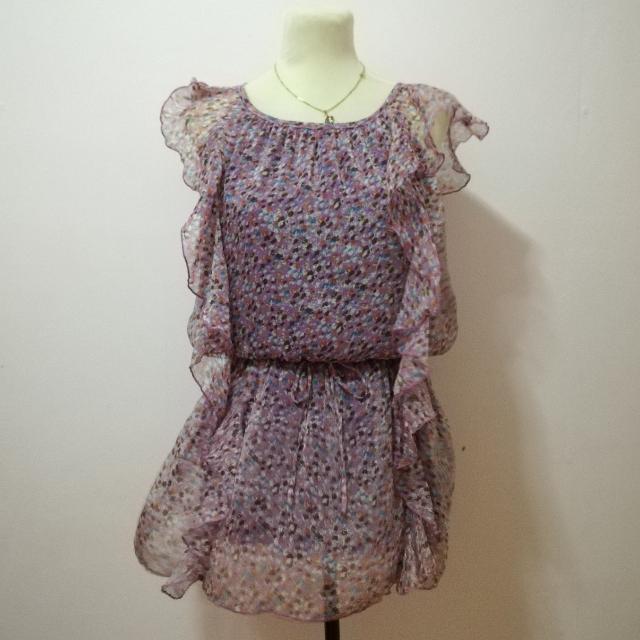 Ruffle Party Dress