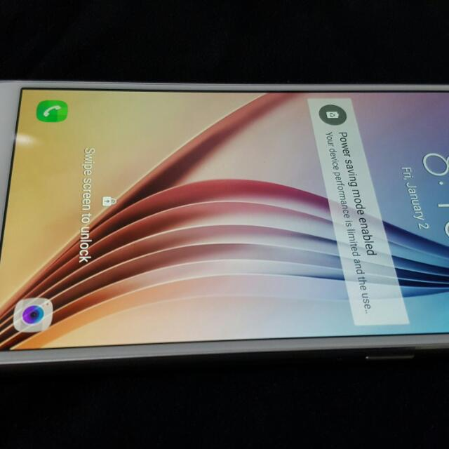 Repriced: White 32GB S6