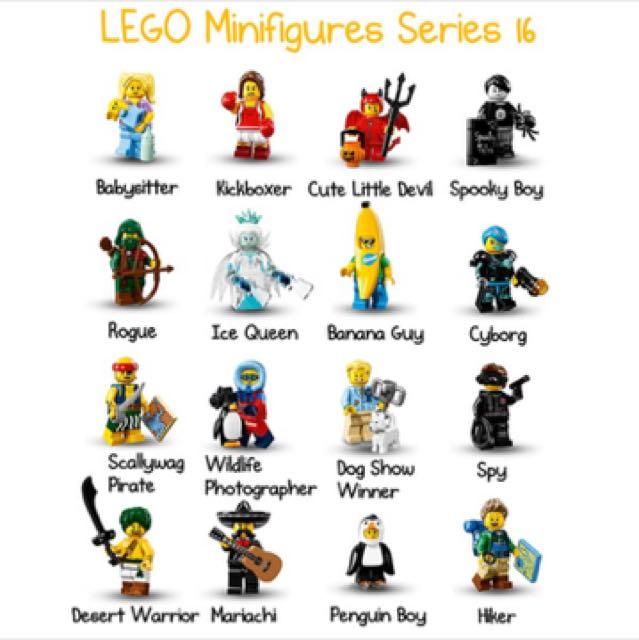 lego minifiguren 16