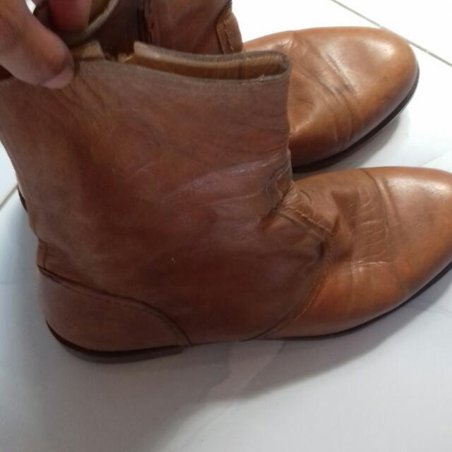 Sepatu Import Merk Salamander Ori
