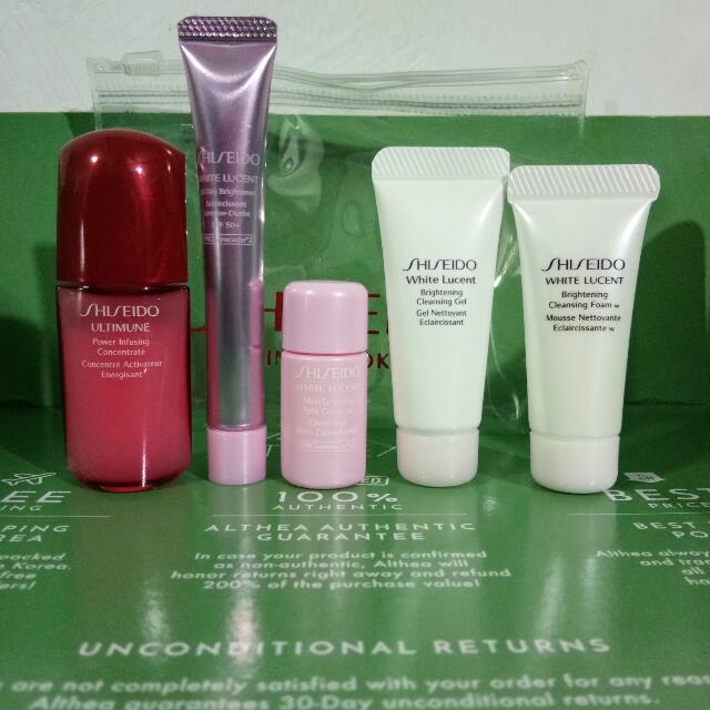 Shiseido Trial Kit (5 Pcs)
