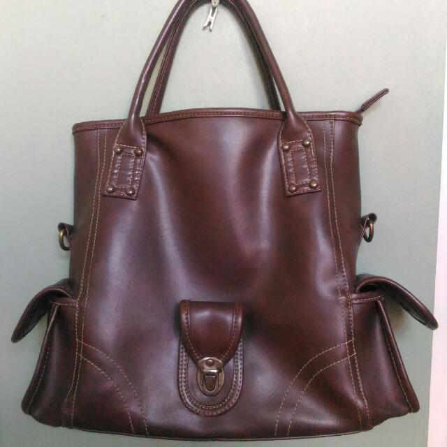 Sophie Chocolate Brown Bag