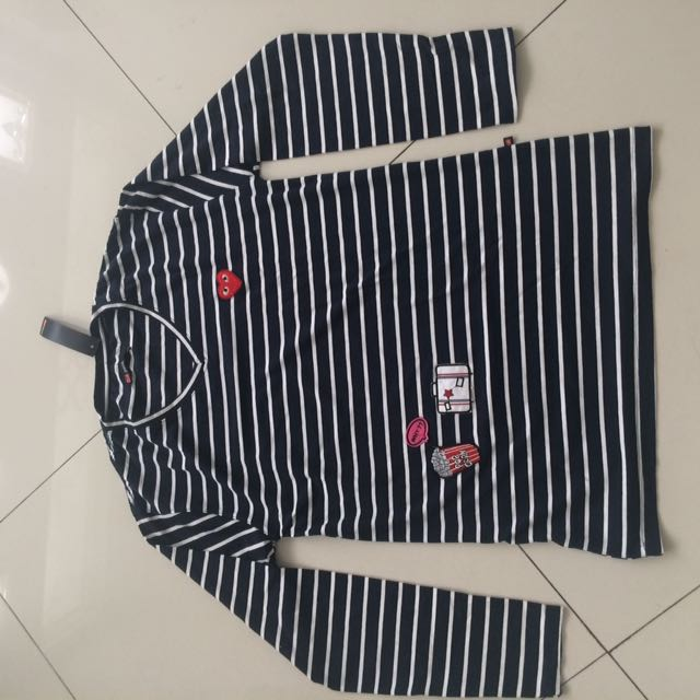 Stripe Patch Tee