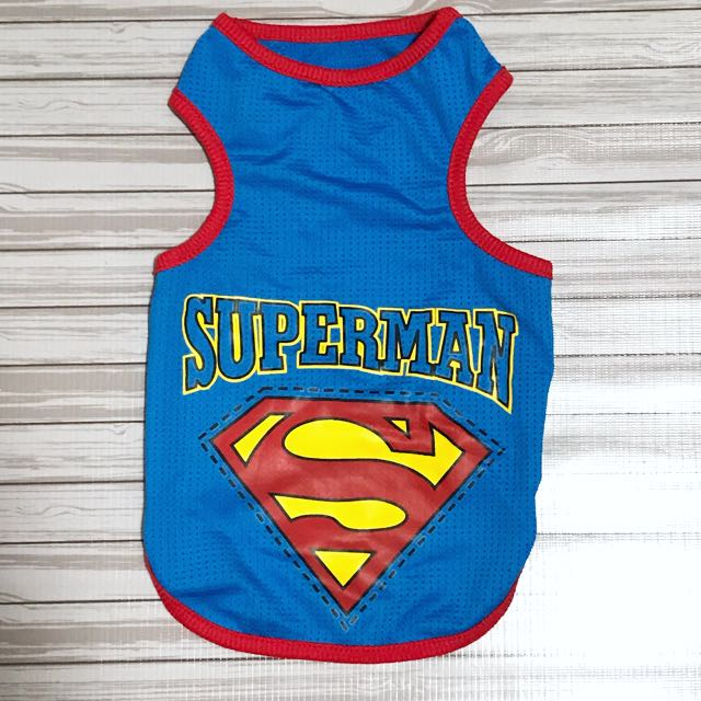 Superman Shirt For Puppies