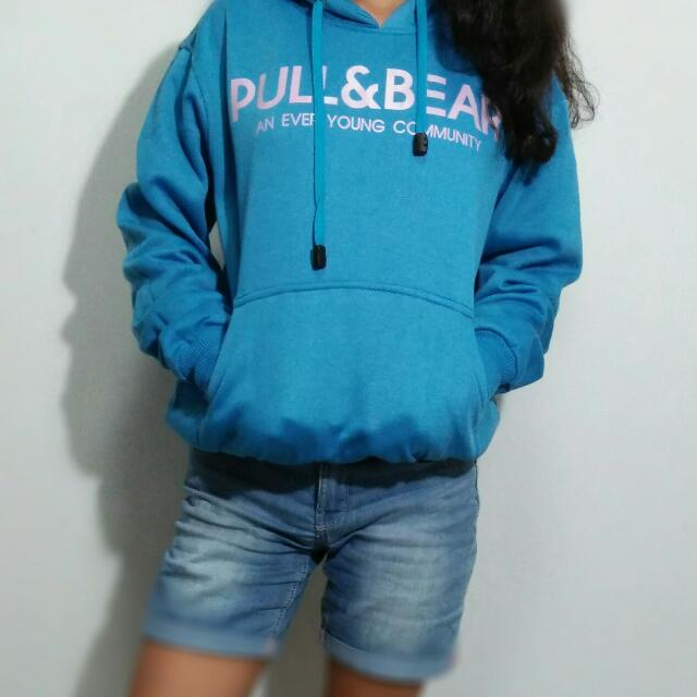 Sweater Hoodie Pull and bear