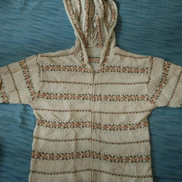 Turun Harga Sweater Rajut Tangan Pendek