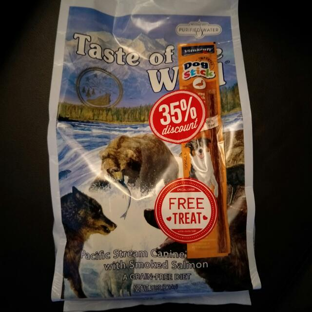 Taste Of The Wild 5lbs 2.27kg (Pacific Stream Canine Formula With Smoked Salmon)