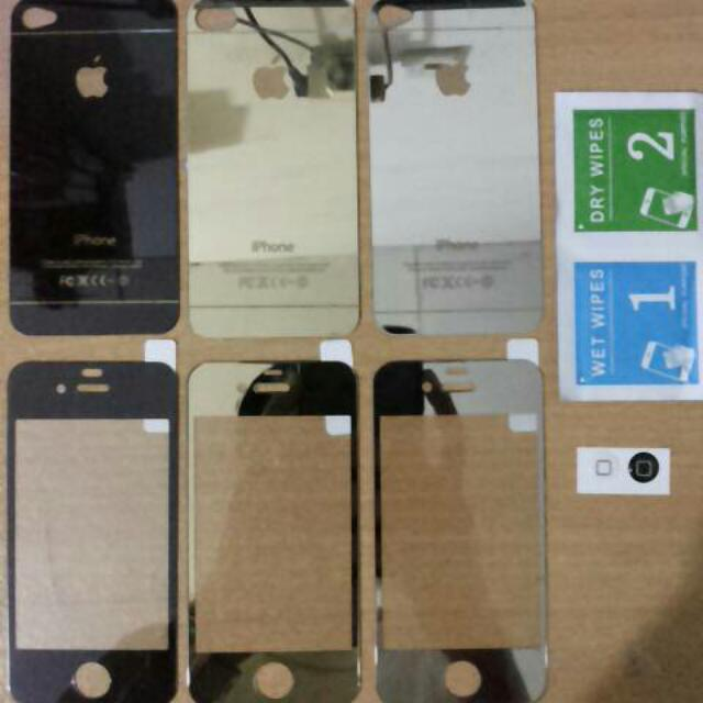 TEMPERED GLASS MIRROR IPHONE 4/4S/5/5S/6/6+/7/7+