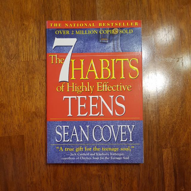 FREE SHIPPING - The 7 Habits Of Highly Effective Teens By Sean Covey