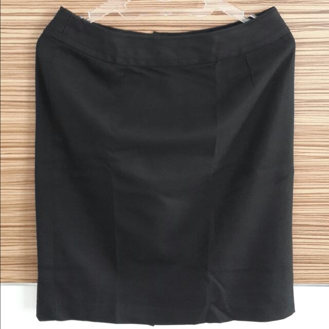 The Executive Black Skirt