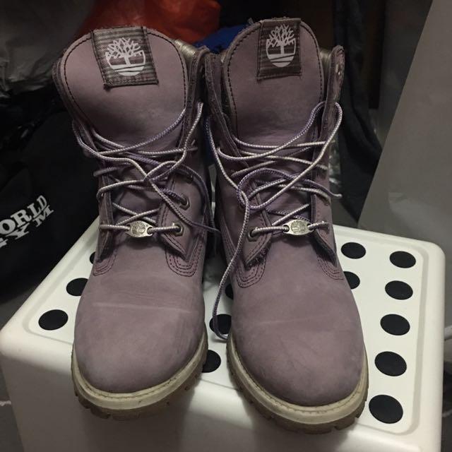Timberland限量色靴