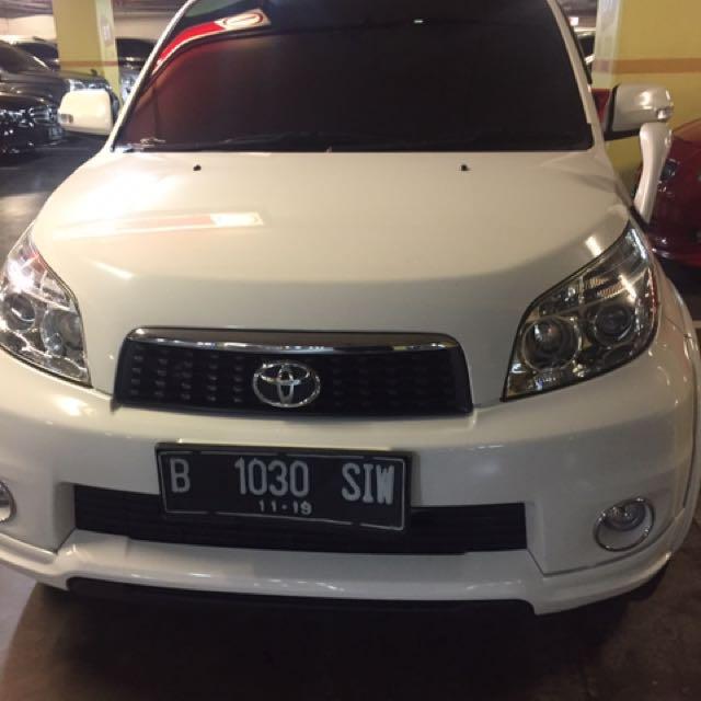Toyota Rush (white)type G matic  2014