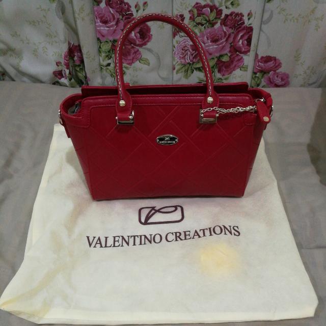 Valentino Creations Red Handbag Women S Fashion Bags Wallets On Carou