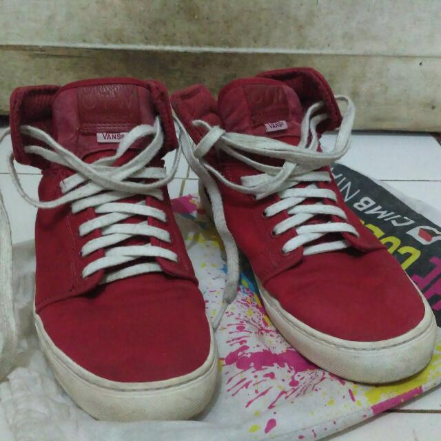 VANS OTW ALOMAR RED CANVAS