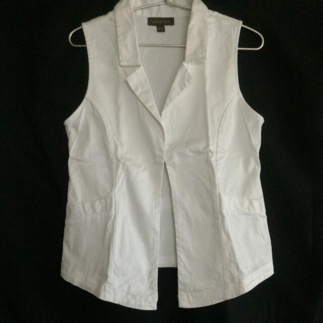 White Plains & Prints Vest