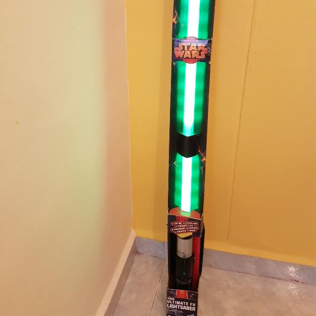 Yoda Ultimate FX Lightsaber (Hasbro)