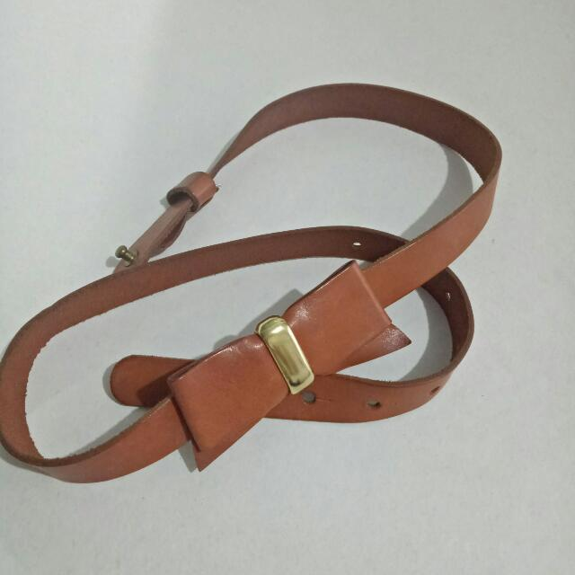 Zara Bow Belt Size: (L ) 34-36