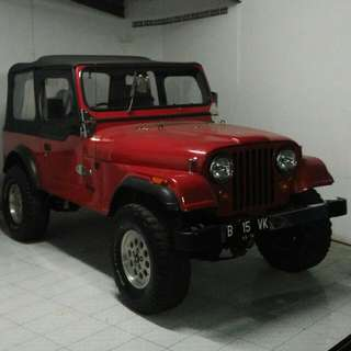 Jeep CJ7 '82 Canvas