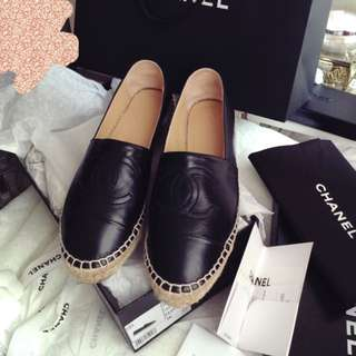 Authentic Preloved Chanel espadrile