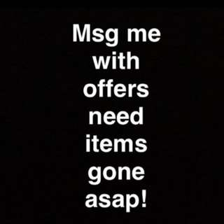 Items Gone Asap