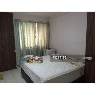 3+1 Blk 860 Yishun Khatib MRT Full furnished Aircon Hi Flr immed 1.8k